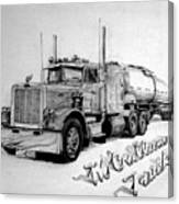 Mccallum Trucking Canvas Print