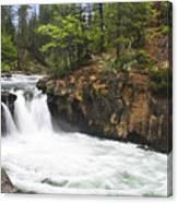 Mccloud Lowerfalls Canvas Print