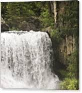 Mccloud Upper Falls Canvas Print