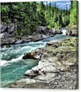 Mcdonald Creek 2 Canvas Print