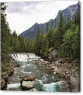 Mcdonald Falls - Glacier Canvas Print