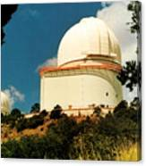 Mcdonald Observatory At Mt. Locke Canvas Print
