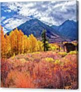 Mcgee Creek Majesty Canvas Print