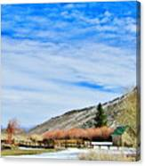 Mcgee Creek Pack Station Canvas Print