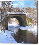 Mcgowan Bridge Canvas Print