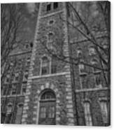 Mcgraw Hall - Bw Canvas Print