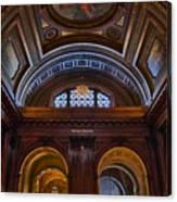 Mcgraw Rotunda Nypl Canvas Print