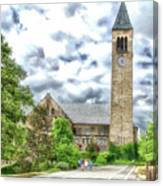 Mcgraw Tower Cornell University Ithaca New York Pa 10 Canvas Print