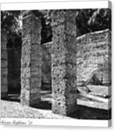 Mcintosh Sugar Mill Tabby Ruins 1825  Canvas Print