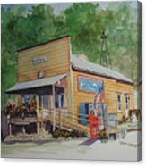Mckays General Store Canvas Print