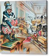 Mckinley Tariff Act, 1894 Canvas Print