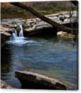 Mckinney Falls State Park-upper Falls 6 Canvas Print