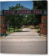 Mclain Rogers Park Canvas Print