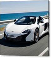 Mclaren 650s Spider Canvas Print