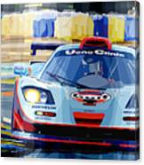 Mclaren Bmw F1 Gtr Gulf Team Davidoff Le Mans 1997 Canvas Print