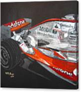 Mclaren F1 Alonso Canvas Print