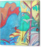 Me-bird In Paradise Canvas Print