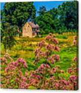 Meadow House At Longwood Canvas Print