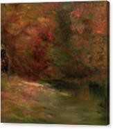 Meadow In Fall Canvas Print