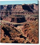 Meander Overlook - Dead Horse Point - Panorama Canvas Print