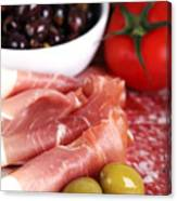 Meat Platter  Canvas Print