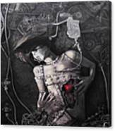 Mechanical Girl Canvas Print