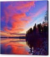 Meddybemps Reflections 2 Canvas Print