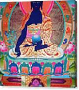 Medicine Buddha 11 Canvas Print