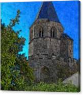 Medieval Bell Tower 1 Canvas Print