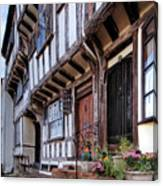 Medieval British Architecture - Dick Turpin's Cottage Thaxted Canvas Print