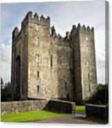 Medieval Bunraty Castle Ireland Canvas Print