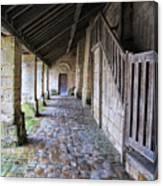 Medieval Church Entrance Canvas Print
