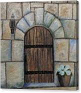 Medieval Door Canvas Print