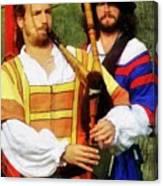 Medieval Minstrels Canvas Print