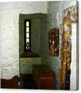 Medieval Monastic Cell Canvas Print