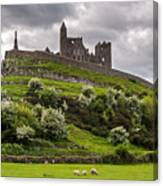 Medieval Rock Of Cashel Ireland Canvas Print