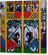 Medieval Scene Canvas Print