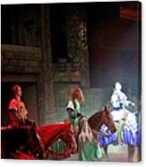 Medieval Times Dinner Theatre In Las Vegas Canvas Print