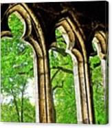 Medieval Triptych Canvas Print