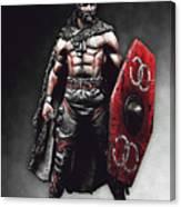 Medieval Warrior - 13 Canvas Print