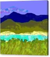 Medina River Canvas Print