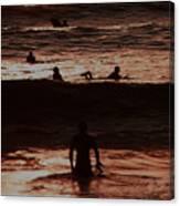 Meditari - Red Canvas Print