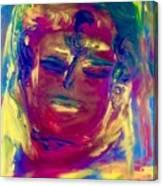 Meditating On Love Canvas Print