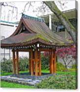Meditation Pagoda Canvas Print