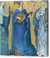 Meditations On The Holy Trinity  After The Music Of Olivier Messiaen, Canvas Print