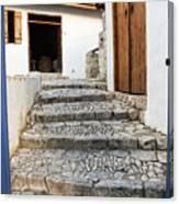 Mediteranean Old House Canvas Print