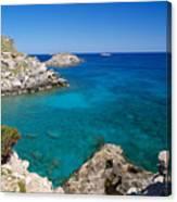 Mediterranean Blue Canvas Print