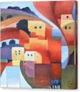 Mediterranean Feel Canvas Print