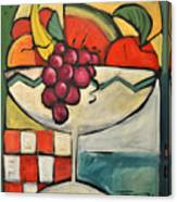 Mediterranean Fruit Cocktail Canvas Print