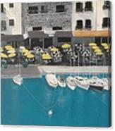 Mediterranean Harbour Canvas Print